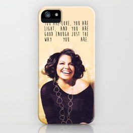 Sara Ramirez Skin iPhone Case