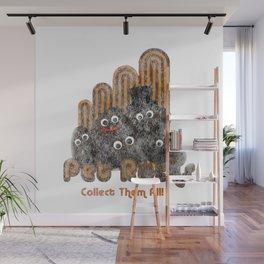 Pet Rocks - Seventies Geology Joke Design Wall Mural