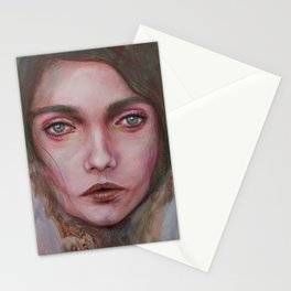 Disturbing Silence Stationery Cards