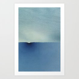 Seascape (Wave) Art Print