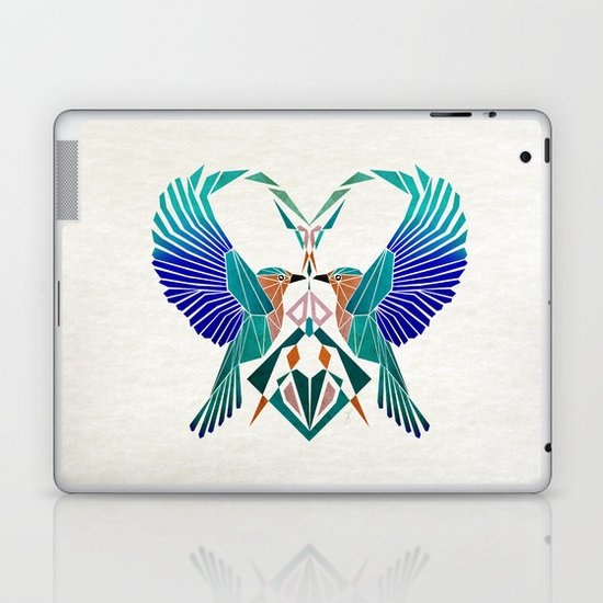 couple of blue birds Laptop & iPad Skin