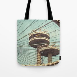 imprisoned towers... Tote Bag