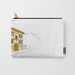 Yellow San Francisco Haus Carry-All Pouch