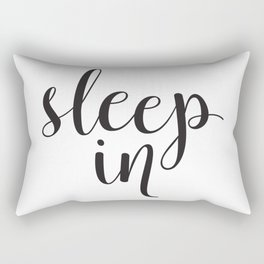 Sleep In Rectangular Pillow