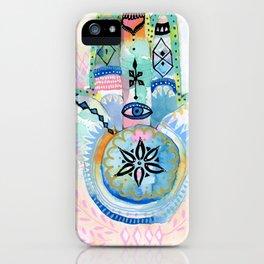 Morocco Hamsa Hand iPhone Case