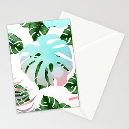 Tropical Mint Stationery Cards
