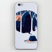 scary iPhone & iPod Skins featuring Scary story by SpazioC