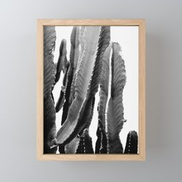 Boho Cactus Framed Mini Art Print