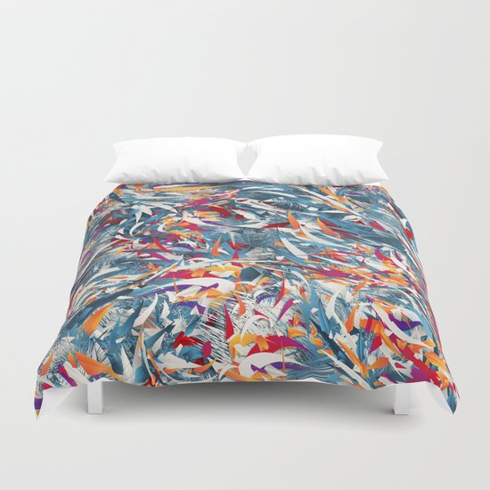 Excited Colours Duvet Cover