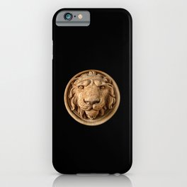 Lion Head Face iPhone Case