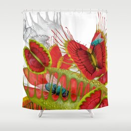 Beautiful And Deadly Shower Curtain