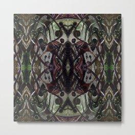 Ghost Upholstery Metal Print