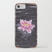 lotus iPhone & iPod Cases featuring Lotus by KeithKarloff