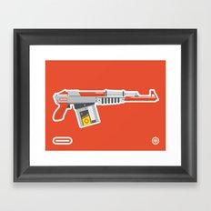 N-16 Sub Automatic Assault Light Gun Framed Art Print