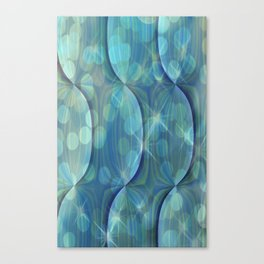 Twilight Dreams Abstract Canvas Print
