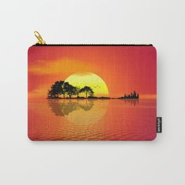 Nature Guitar Sunset Carry-All Pouch