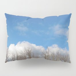 Blue Lined Skies Pillow Sham