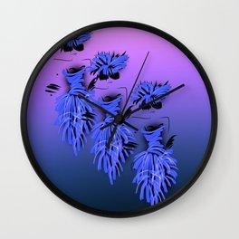 Ladies in blue Wall Clock