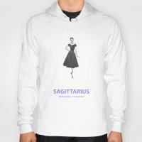 sagittarius Hoodies featuring Sagittarius by Cansu Girgin