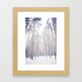 It's Cold Outside Framed Art Print
