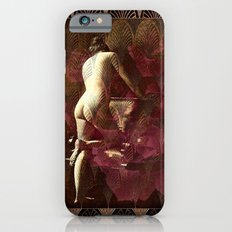 Art Deco Nude With Roses Slim Case iPhone 6s