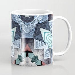 Abstract Structural Collage Coffee Mug