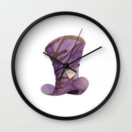 Madder Hat Wall Clock
