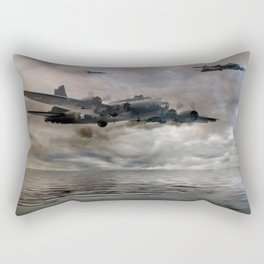 B-17 Flying Fortress - Almost Home Rectangular Pillow