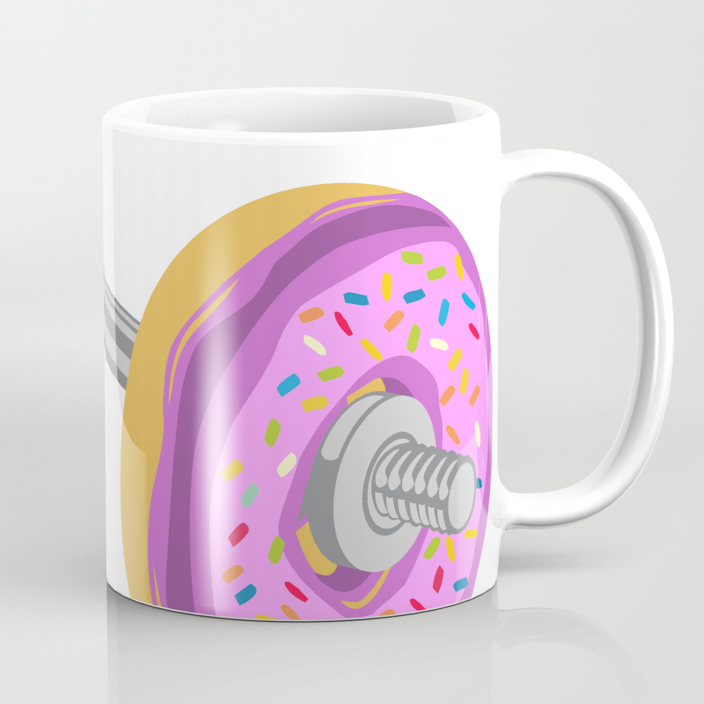 Donut Weight Artwork Coffee Mug