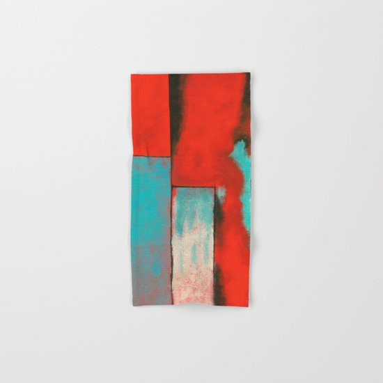 The Corners of My Mind, Abstract Art Painting Hand & Bath Towel