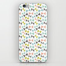 Spring bows iPhone & iPod Skin