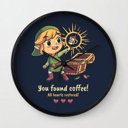 The Legendary Coffee Wall Clock
