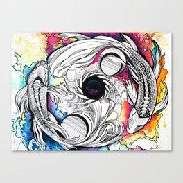 Pisces Dream Pool Canvas Print