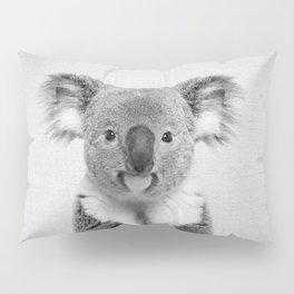 Koala 2 - Black & White Pillow Sham