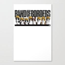 Band Of Borders - Desert Canvas Print