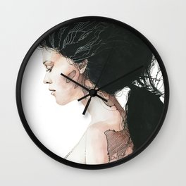 Torn to shreds Wall Clock