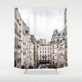 Montmartre View of Paris  Shower Curtain