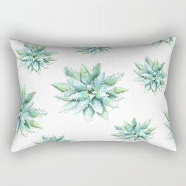 Succulent Star Rectangular Pillow