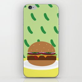 The Damned Burger iPhone Skin
