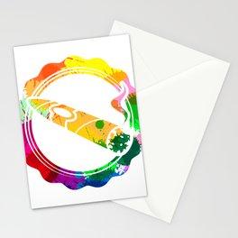 Abstract Cigar Illustration Stationery Cards