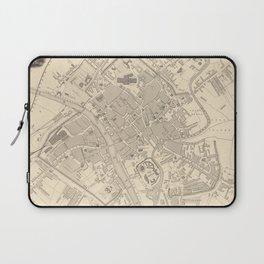 Vintage Map of York England (1851) Laptop Sleeve