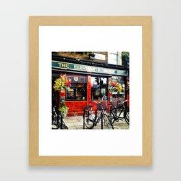 English Pub Life Framed Art Print