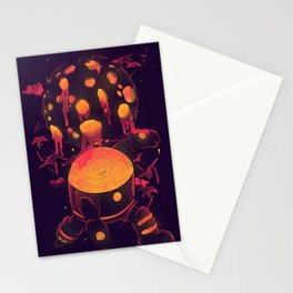 Super Heroic Pose Stationery Cards