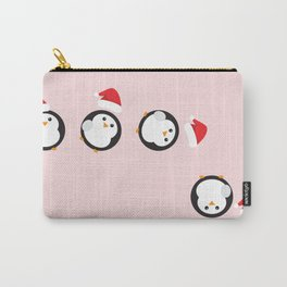 Mr P. The Christmas Penguin Carry-All Pouch