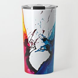 Abstract Art Britto - QB292 Art Print Travel Mug