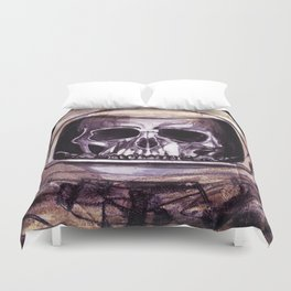 Space Skeleton  Duvet Cover