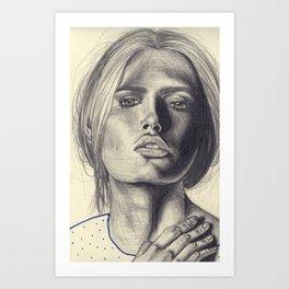 Rough Art Print