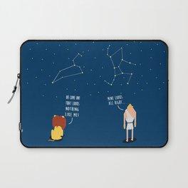 Awkward Constellations Laptop Sleeve