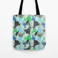 nouveau Tote Bags featuring Nouveau Nouveau by Jacqueline Maldonado