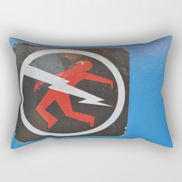 Danger Rectangular Pillow